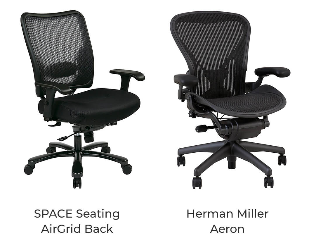 SPACE Seating vs Herman Miller Aeron - Which one has more comfortable seat?