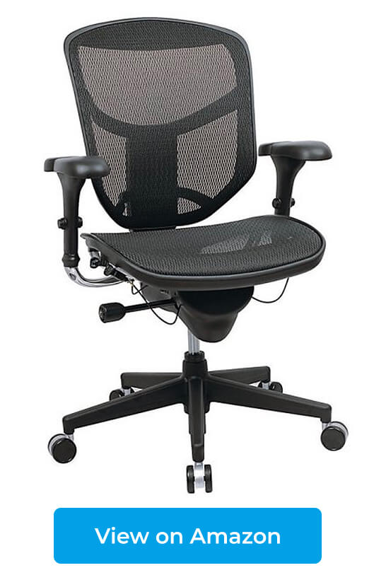 WorkPro Quantum 9000 Series Mesh Mid Back Chair (Herman Miller Aeron  Knock Off)
