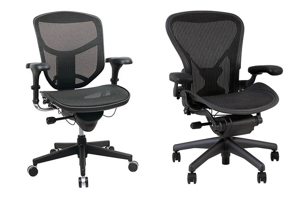 WorkPro 9000 Series vs Herman Miller Aeron