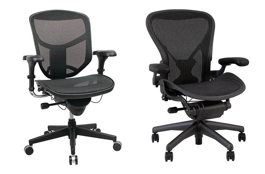 WorkPro 9000 Series vs Aeron