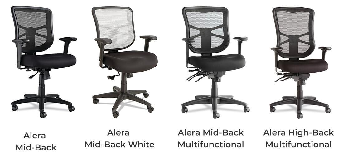 Alera Elusion High Back vs Mid Back vs Multifunctional