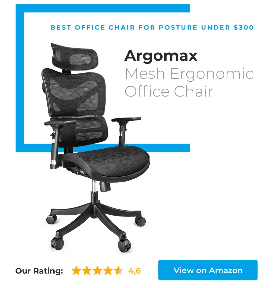Argomax is best office chair for posture under $300