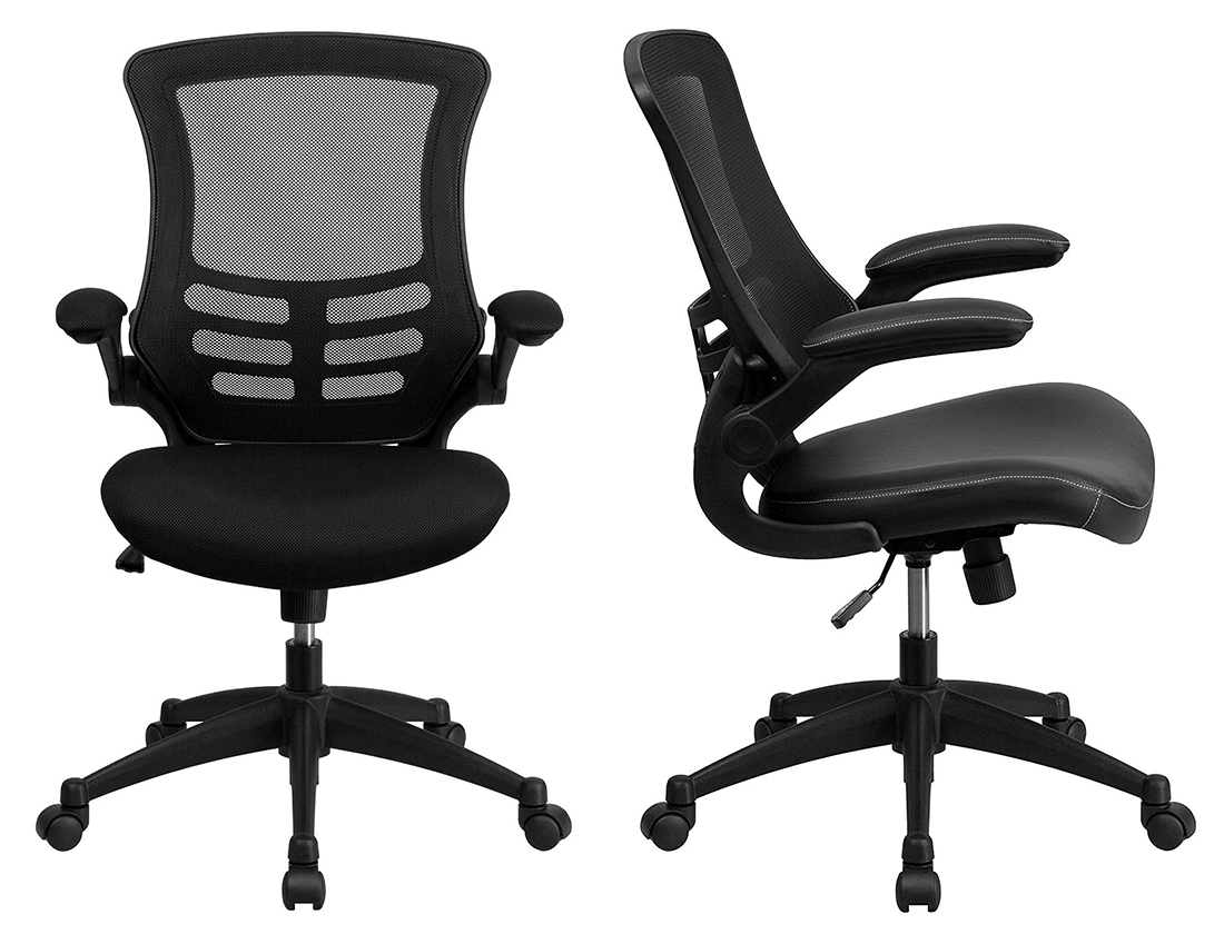 Flash Furniture chair is available with two different versions.