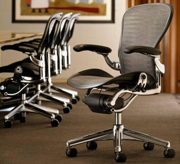 Herman Miller Aeron it's probably the best ergonomic chair in the world