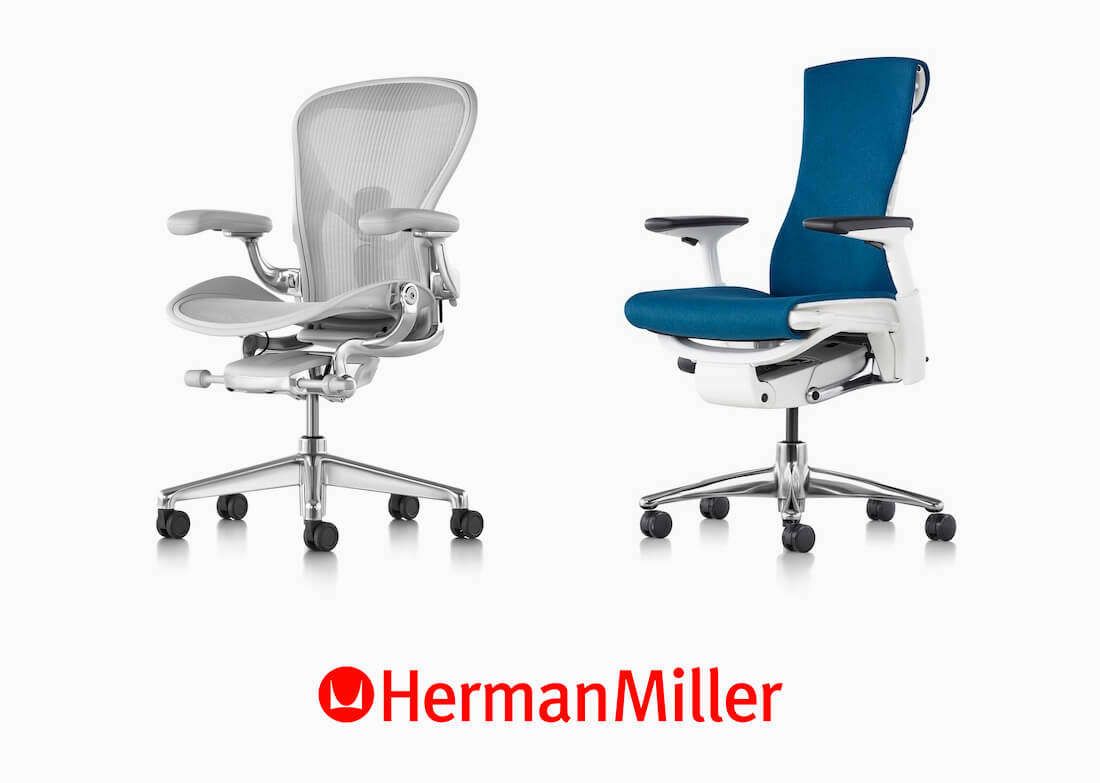 Herman Miller chairs are great for any kind of pain.
