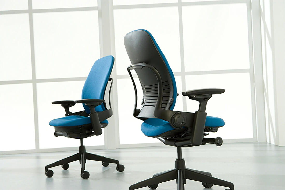 Steelcase Leap is great ergonomic chair when you work long hours