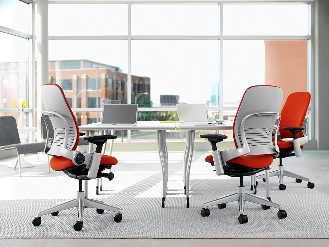 Steelcase Leap Real Photo - Material