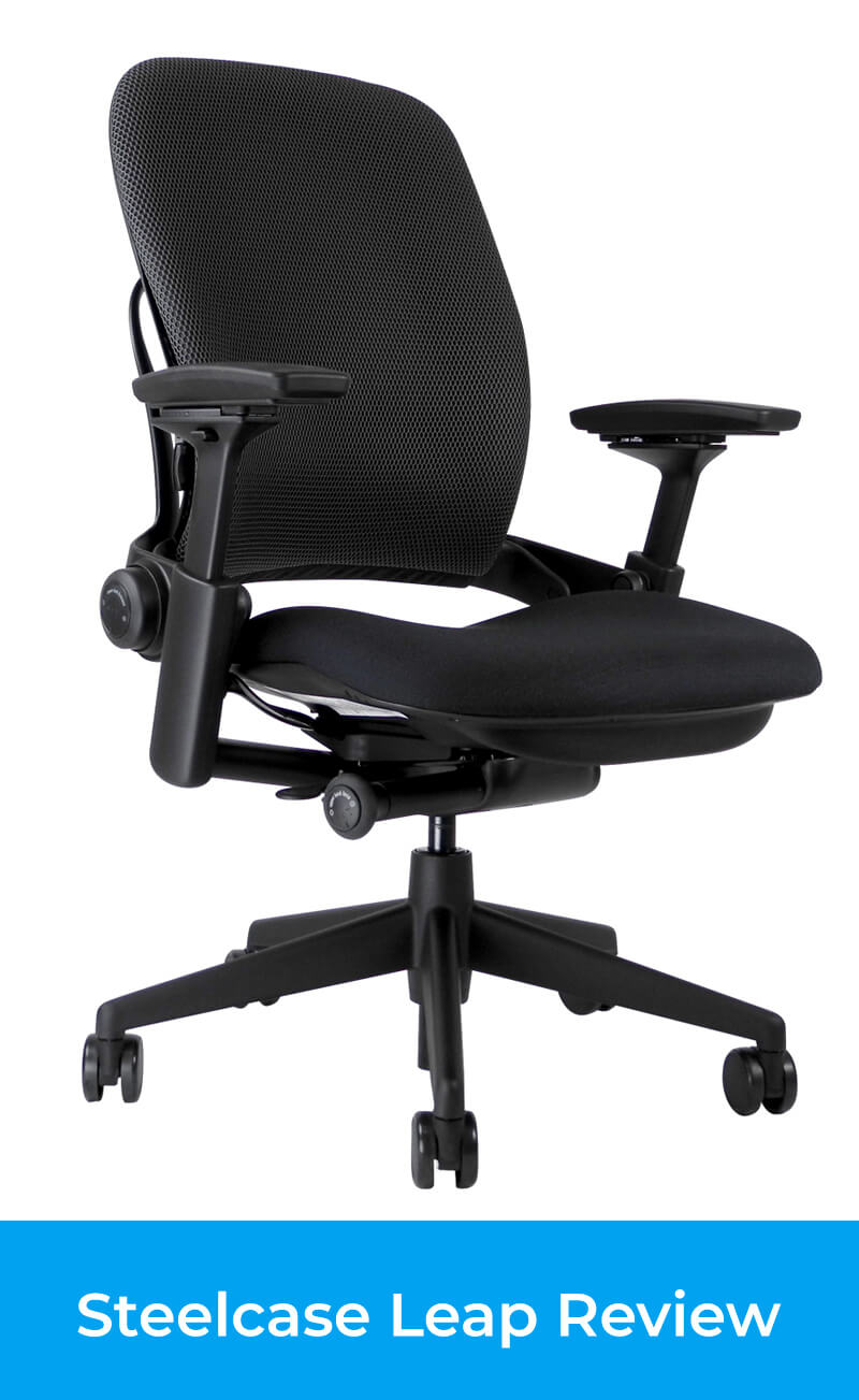 Steelcase Leap Review - Great Ergonomic Office Chair