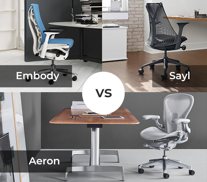 You're not sure which Herman Miller Chair you should buy? Check comparison of the best 3 models.