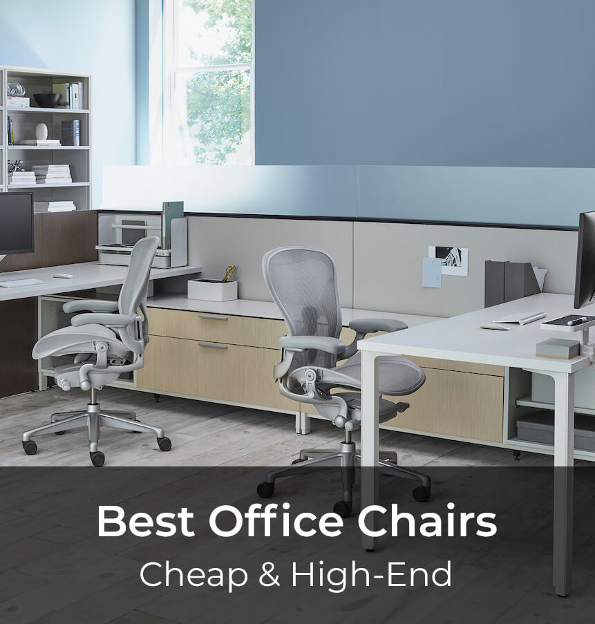 In this article you will find the best office chairs under $100, under $200 and $300 but also high-end best office chairs in 2019.