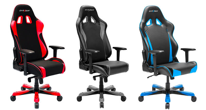DXRacer Sentinel, Tank & King are great chairs for fat people