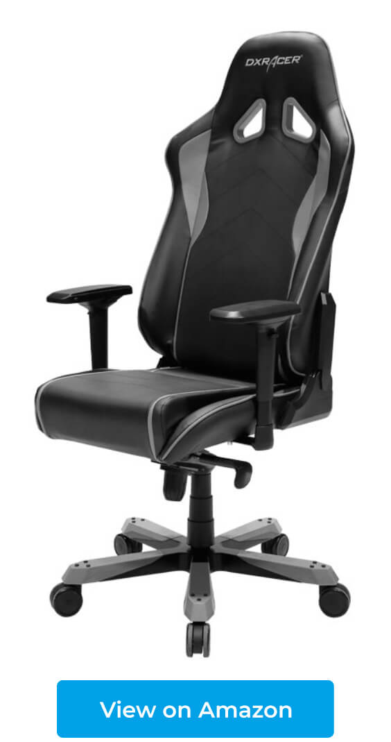 DXRacer Sentinel is designed for people up to 350 lbs and 6'6""