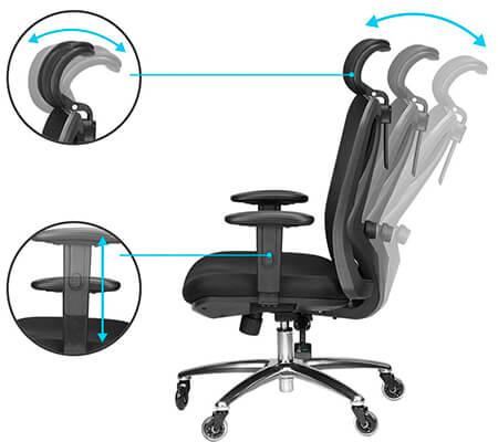 duramond headrest