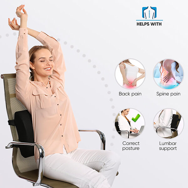 lumbar support for office chair after surgery
