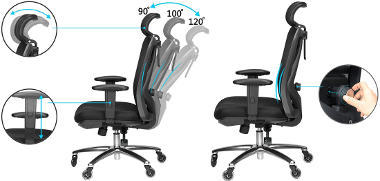Duramont chair- Adjustments