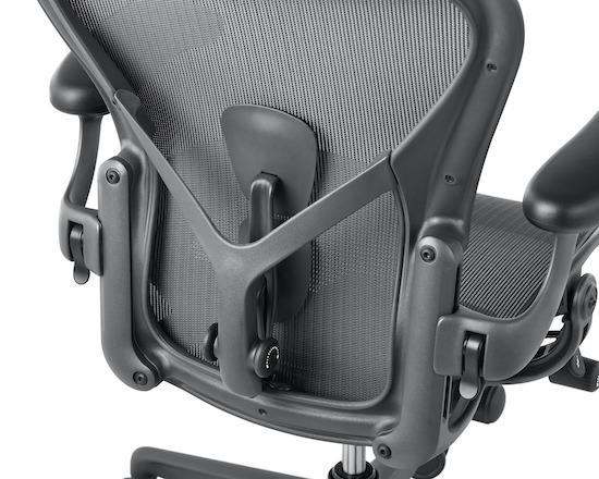 Herman Miller Aeron PostureFit SL back
