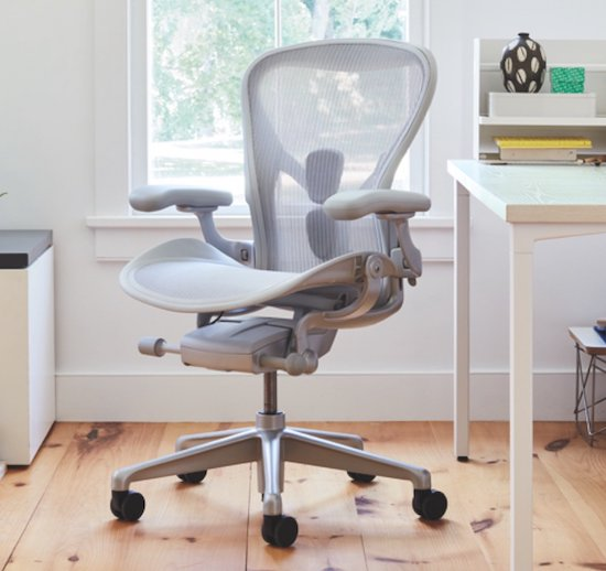 Herman Miller Aeron Size A for petite person