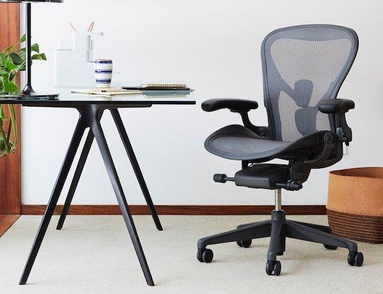 Herman Miller Aeron chair with PostureFit SL