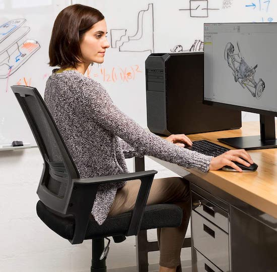 SMUGDESK Mid-Back Office Chair
