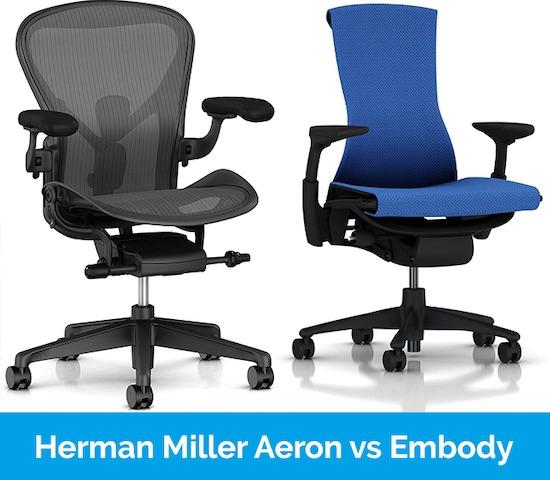 Herman Miller Aeron vs Herman Miller Embody